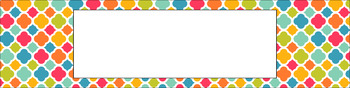 Editable Medium Sterilite Drawer Labels - Sweet Summertime