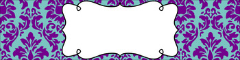 Editable Sterilite Drawer Labels - Dual-Color: Winter Dusk