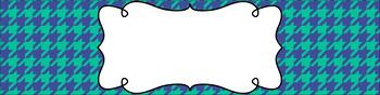 Editable Medium Sterilite Drawer Labels - Beach Day