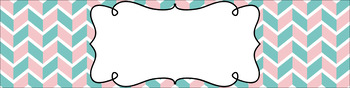 Editable Sterilite Drawer Labels - Dual-Color: Candy Shoppe