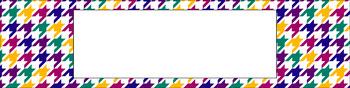 Editable Medium Sterilite Drawer Labels - Rainbow: Jewel
