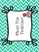 Editable Meet The Teacher Bundle