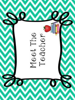 Editable Meet The Teacher Bundle