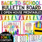 Open House - Back to School Night & Meet the Teacher Forms