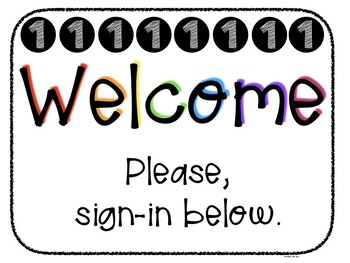 Editable Meet the Teacher Classroom Signs