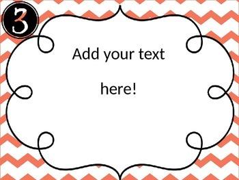 Editable Meet the Teacher Table  Signs