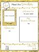 Editable Meet the Teacher Templates - Gold Edition [FREE!]