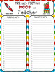 Editable Meet the Teacher Templates with Sign In Sheets