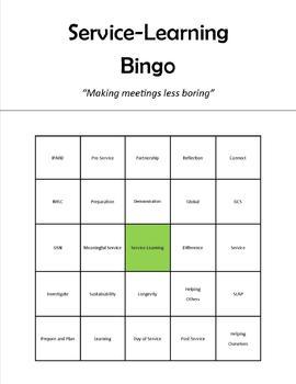 (Editable) Meeting Bingo