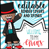 Editable Melonheadz Circus Binder Covers & Spines