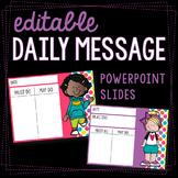 Editable Melonheadz Daily Message