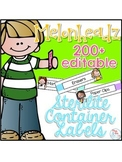 Editable Melonheadz Teacher Toolbox Labels { Over 200 labe