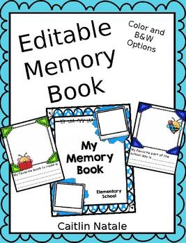 Editable Memory Book