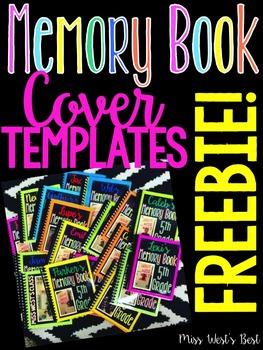 Editable Memory Book Cover Template