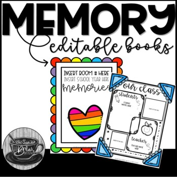 Editable Memory and Reflection Writing Books