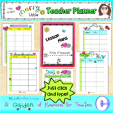 Editable Merry Little Teacher Planner