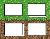 Editable Minecraft Labels for Perimeter and Area