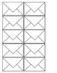 Editable Mini Envelopes