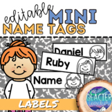 Editable Mini Name Tags
