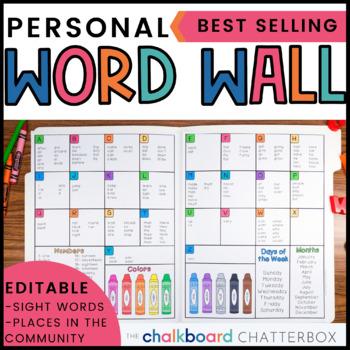 Editable Mini Word Wall