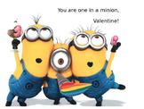 FREEBIE Editable Minions Valentine Printouts