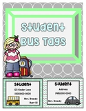 Bus tags