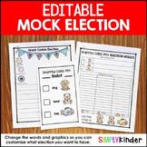 Editable Mock Election
