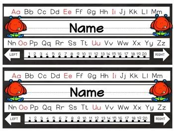 Editable Monsters Nameplates