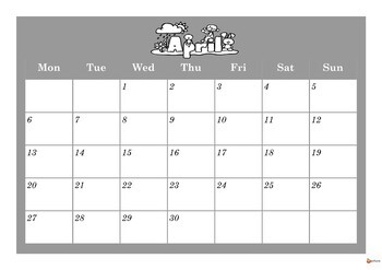 Editable Monthly Calendar Bundle ( June 2019 - August 2020)