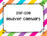 Editable Monthly Calendars 2017-2018