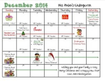Editable Monthly Calendars for 2014 - 2015 (Microsoft Publisher Format)