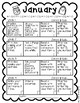 Editable Monthly Ideas for Home