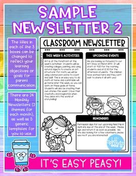microsoft word, christmas family, preschool classroom, on newsletter templates for free pdf