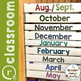 Editable Months of the Year Binder Labels