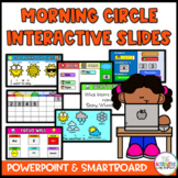 Digital and Editable Morning Circle / Meeting for Distance