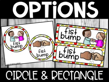 Editable Morning Greetings Choices - Greeting Signs Apple Theme