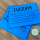 Editable Morning Meeting Cards
