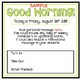 Editable Morning Slides - Bright and Simple!