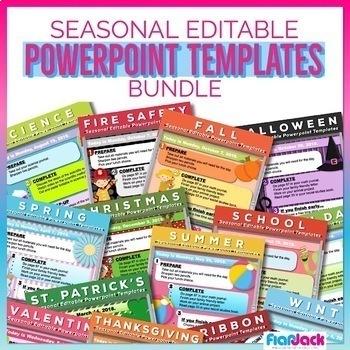 Seasonal editable morning work powerpoint templates bundle tpt seasonal editable morning work powerpoint templates bundle toneelgroepblik Choice Image