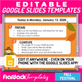 Editable Morning Work Presentation Google Slides PPT Templ