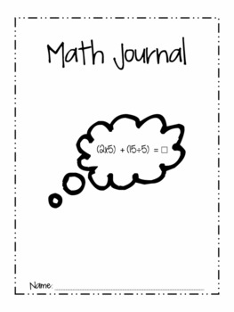 Editable Morning Work and  Math Journal