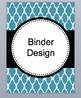Editable Moroccan Themed Binder Designs/Notes Pages