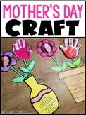 Editable Mother's Day Craft - Mother's Day Flowers and Poem Craftivity