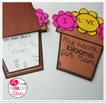 Editable Mother's Day Writing Craft and Coupons