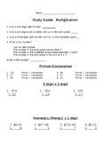 Editable Multiplication Mixed Review
