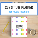Editable Music Substitute Binder