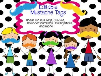 Editable Mustache Tags