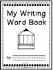 Editable My Writing Word Book - Dolch List - First Grade (