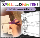EDITABLE Name Writing Practice  Activities - Power Point -