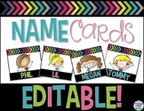 Editable Name Cards